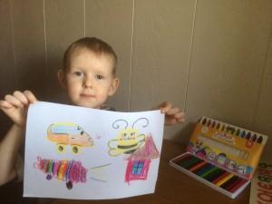 Чирцов Андрей и рисовать насекомых умеет