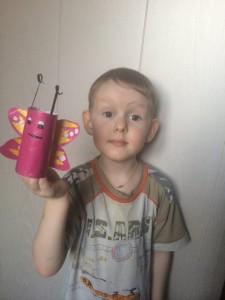 Чирцов Андрей сделал вот такую бабочку