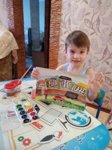 Чурсин Стефан рисуем город