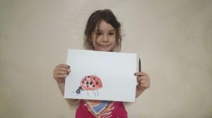 Дроздова Маргарита рисунок по теме Насекомые