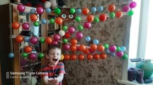 Лангольф Артемий паутина из шариков