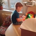 Лысенко Андрей собираем лего