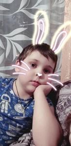 Репин Кирилл задумчивый зайка