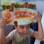 Семахин Рома рисует город