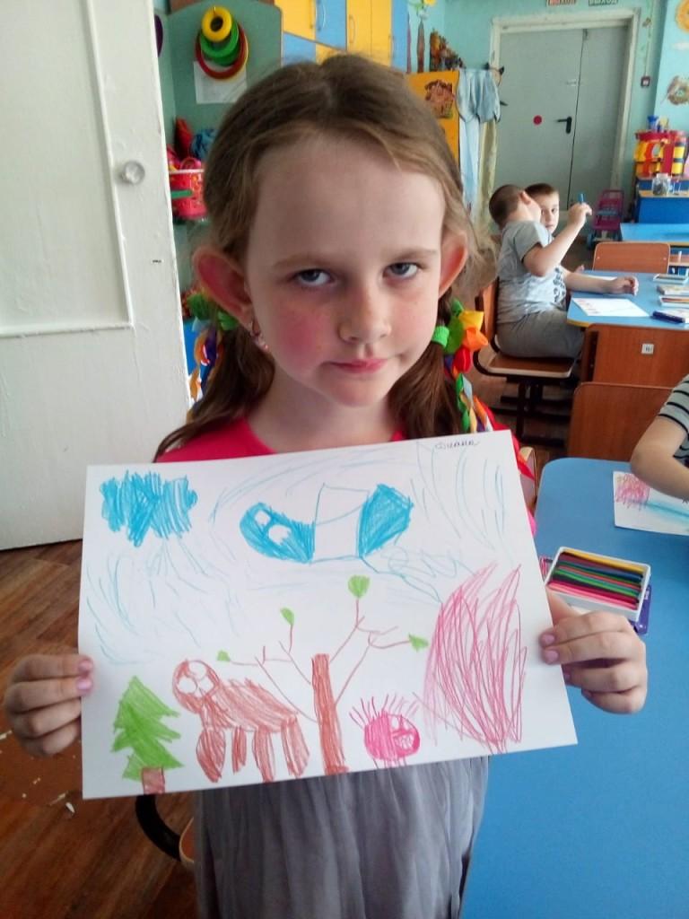 Васильева Дарина Берегите лес, в нем живут животные